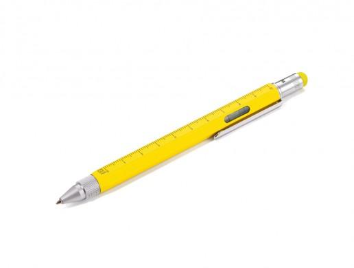 Troika Construction Pen - Yellow