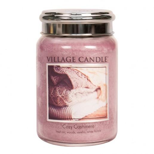 Cozy Cashmere - Village Candle Large Jar