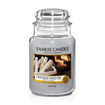 Crackling Wood Fire - Yankee Candle Large Jar
