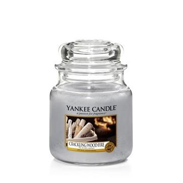Crackling Wood Fire - Yankee Candle Medium Jar