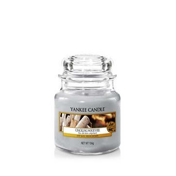 Crackling Wood Fire - Yankee Candle Small Jar