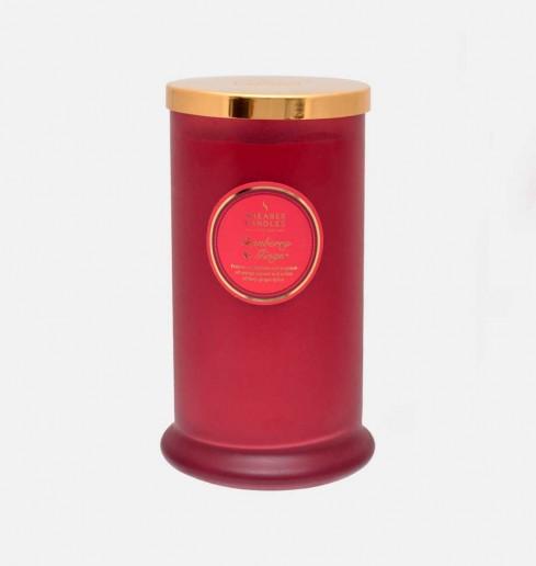 Cranberry & Ginger - Tall Pillar Jar Candle