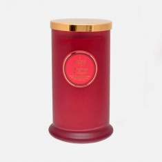 Cranberry & Ginger - Tall Pillar Jar Candle