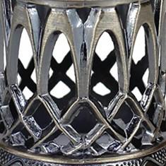 Crown Small - Antique Gold closeup