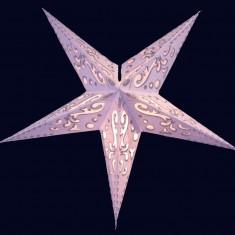 'Curves' Glitter - Small Paper Star Light