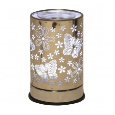 Cylinder Electric Wax Melt Burner - Butterfly