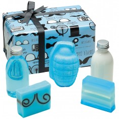 Distinguished Gentleman Gift Set - Bath Bomb Cosmetics