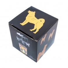 Dog - Spinning Tea Light Candle Holder box