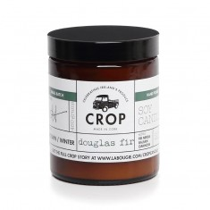 Douglas Fir - Crop Soy Wax Candle in Brown Jar