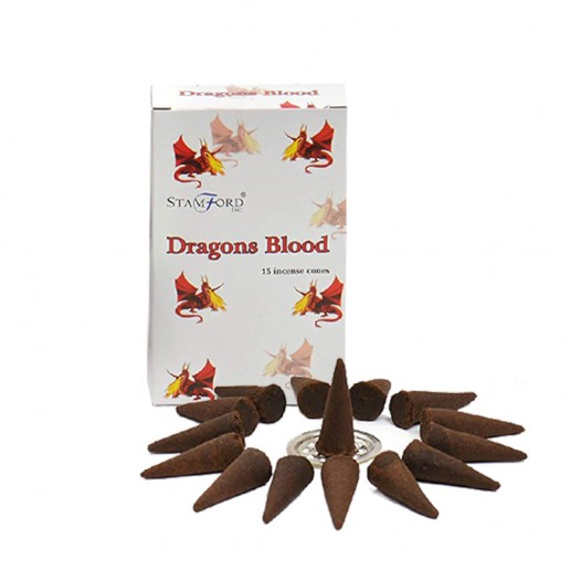 Dragons Blood - Stamford Incense Cones box