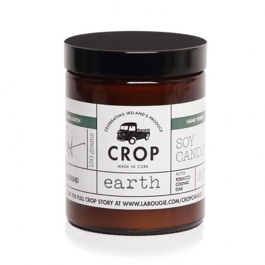 Earth - Crop Soy Wax Candle in Brown Jar