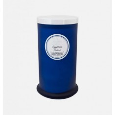 Egyptian Cotton - Large Pillar Jar Candle