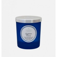 Egyptian Cotton- Small Pillar Jar Candle