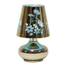 Electric Lamp Wax Melt Oil Burner - Bird blue