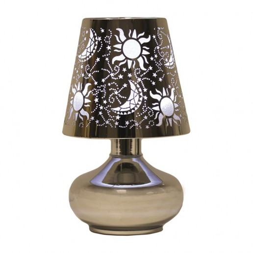 Electric Lamp Wax Melt Oil Burner - Moon