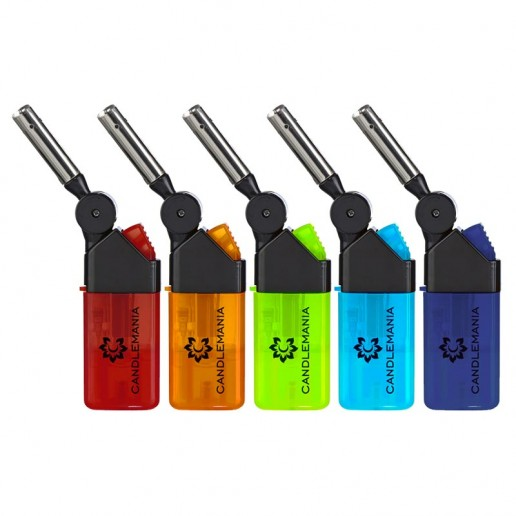 Electronic Windproof Blow Torch Lighter - Colours