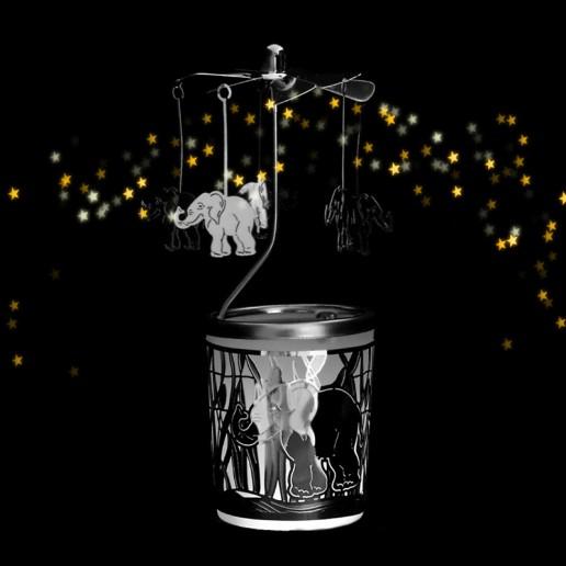 Elephant - Spinning Tea Light Candle Holder.jpg