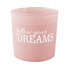 Follow Your Dreams - Scented Candle in Glass
