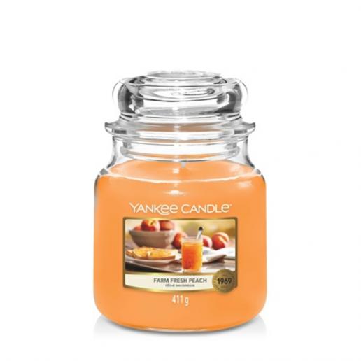 Farm Fresh Peach - Yankee Candle Medium Jar