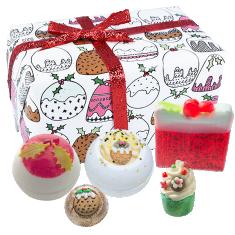 Figgy Pudding Gift Pack - Bath Bomb Cosmetics