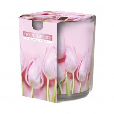 floral Happiness - Scented Candles  In Glass