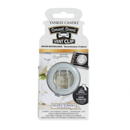 Fluffy Towels - Yankee Candle Car Vent Clip