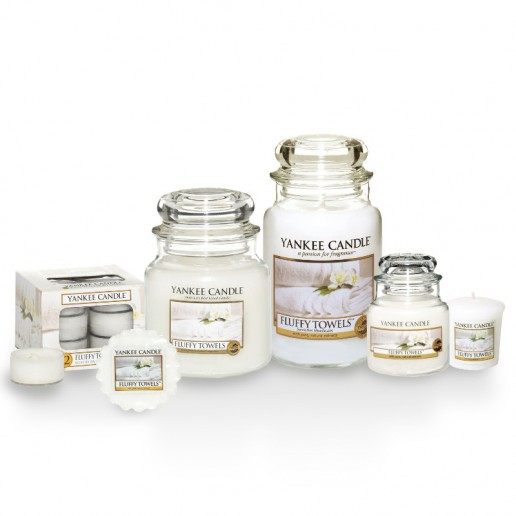 Yankee Candle ≋ Fluffy Towels ≋ Candlemania.ie