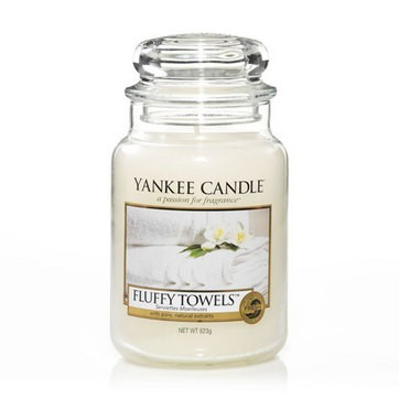Fluffy Towels - Yankee Candle Large Jar