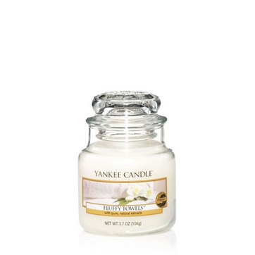 Fluffy Towels - Yankee Candle Small Jar