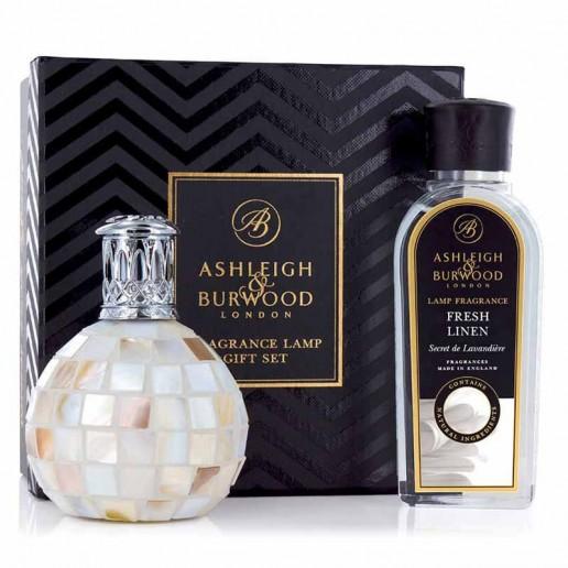 Fragrance Lamp Gift Set - Arctic Tundra & Fresh Linen Ashleigh & Burwood