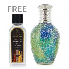 Fragrance Lamp  Large - Mosaic Meadow