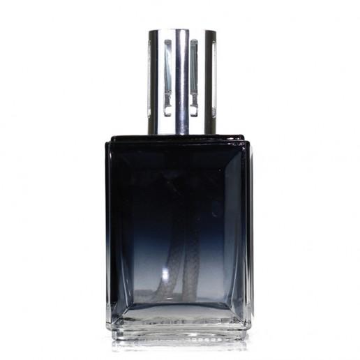 Fragrance Lamp Large - Obsidian Black-Clear