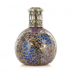 Fragrance Lamp Small - Metallion Copper Blue