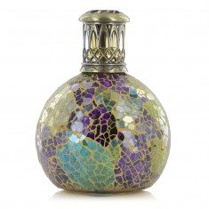 Fragrance Lamp Small - Metallion Purple Green