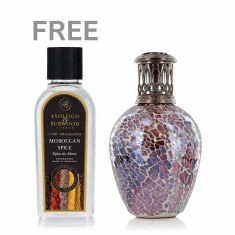 Fragrance Lamp Small - Rose Quartz