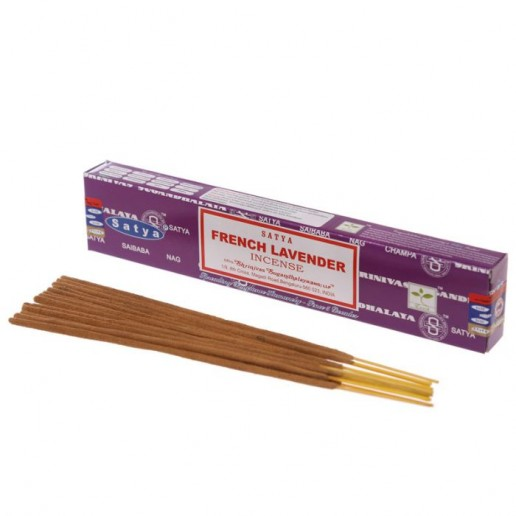 French Lavender - Satya Hand rolled Incense Sticks