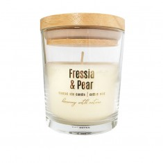 Fressia & Pear - Scented Soy Candle