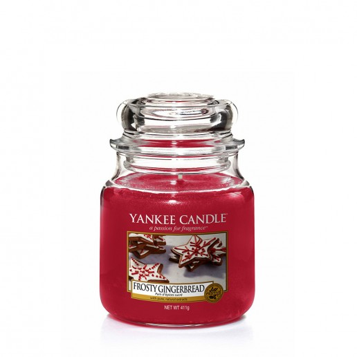 Frosty Gingerbread - Yankee Candle Medium Jar