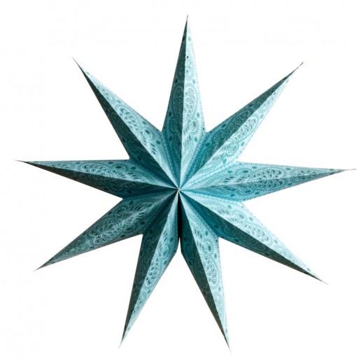 'Ganesh' Aqua Large - Paper Star Light