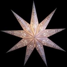 'Ganesh' White - Small Paper Star Light