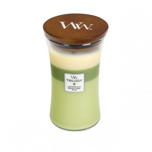 Garden Oasis - WoodWick Trilogy Large Jar