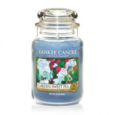 Garden Sweet Pea - Yankee Candle Large Jar