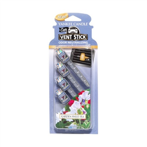 Car Vent Sticks - Garden Sweet Pea