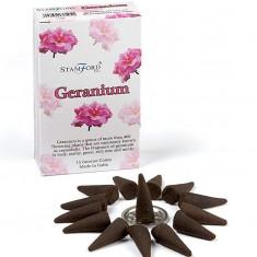 Geranium  - Stamford Incense Cones....