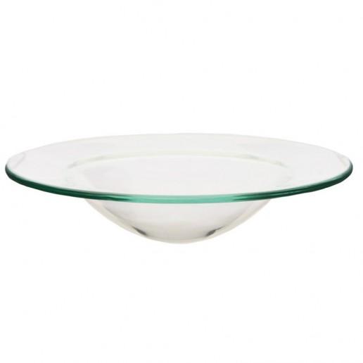 Glass Oil Burner Dish angle