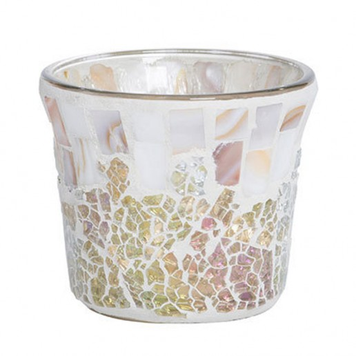Gold & Pearl - Yankee Candle Votive Holder