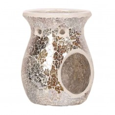 Gold & Silver Lustre Wax Melt Oil Burner