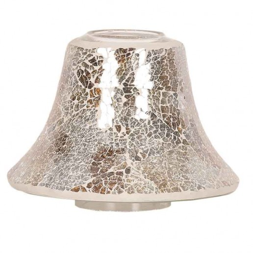 Gold & Silver Lustre Yankee Candle Jar Lamp Shade