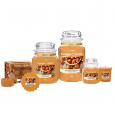 Golden Chestnut - Yankee Candle Large Jar Medium Jar Small Jar Wax Melts Votive Tea Lights