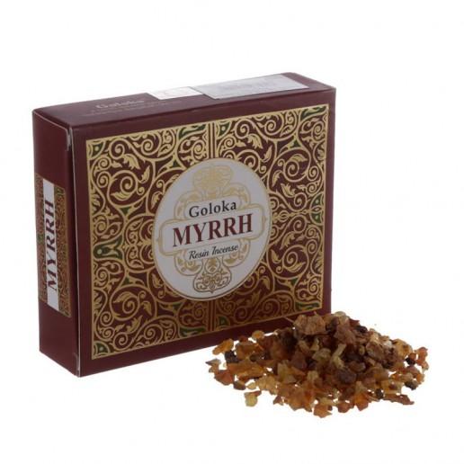 Goloka Incense Resin Myrrh 50g